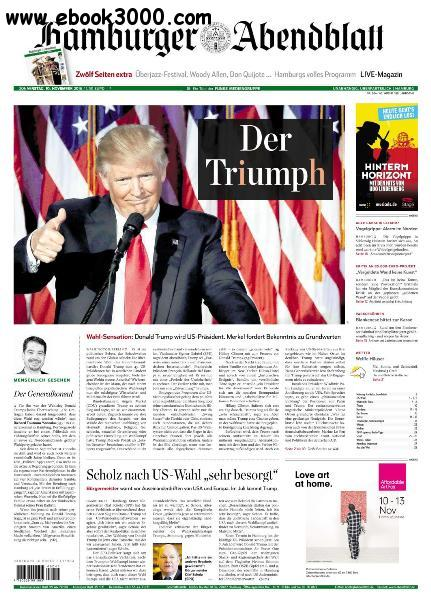 Hamburger Abendblatt - 10 November 2016