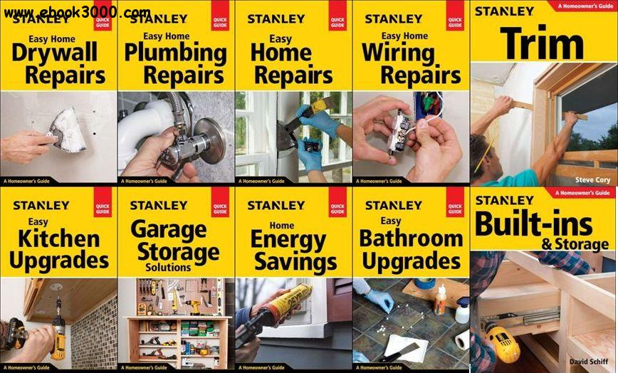 Stanley Homeowner Guides Series (10 Books)