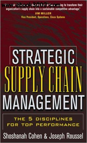 supply chain management pdf free download