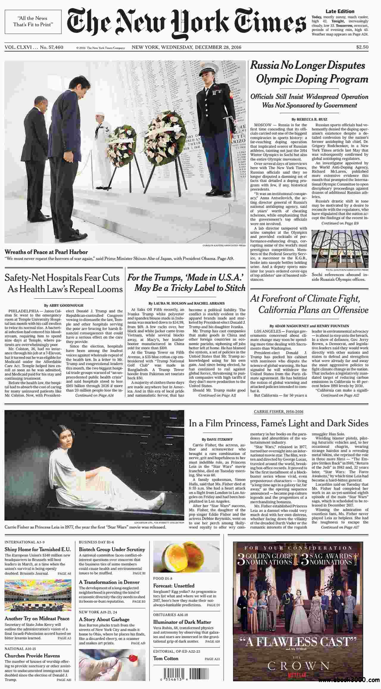 The New York Times  December 28 2016