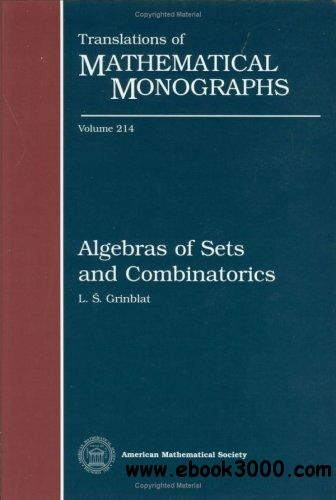 Algebras of Sets and Combinatorics