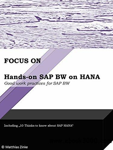 Hands-on SAP BW on HANA: Good work practices for SAP BW (Focus On Book 2)