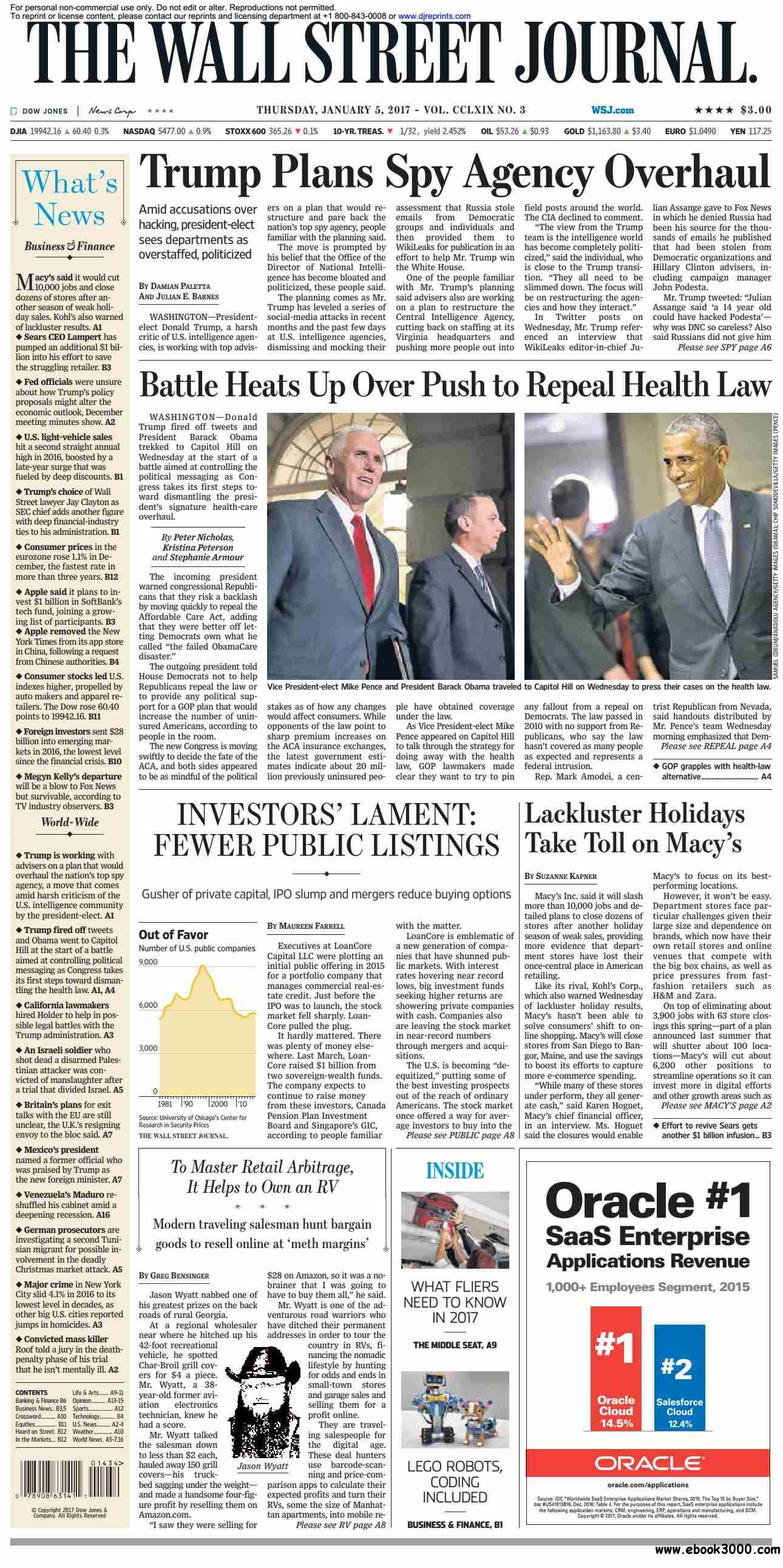 The Wall Street Journal  January 05 2017