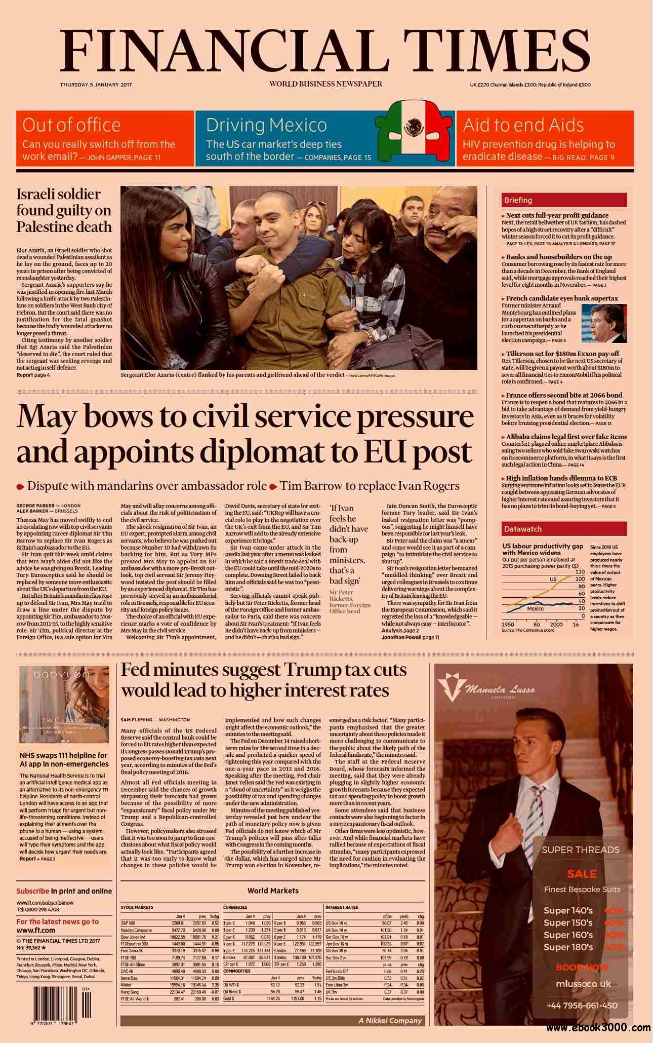 Financial Times UK  January 05 2017