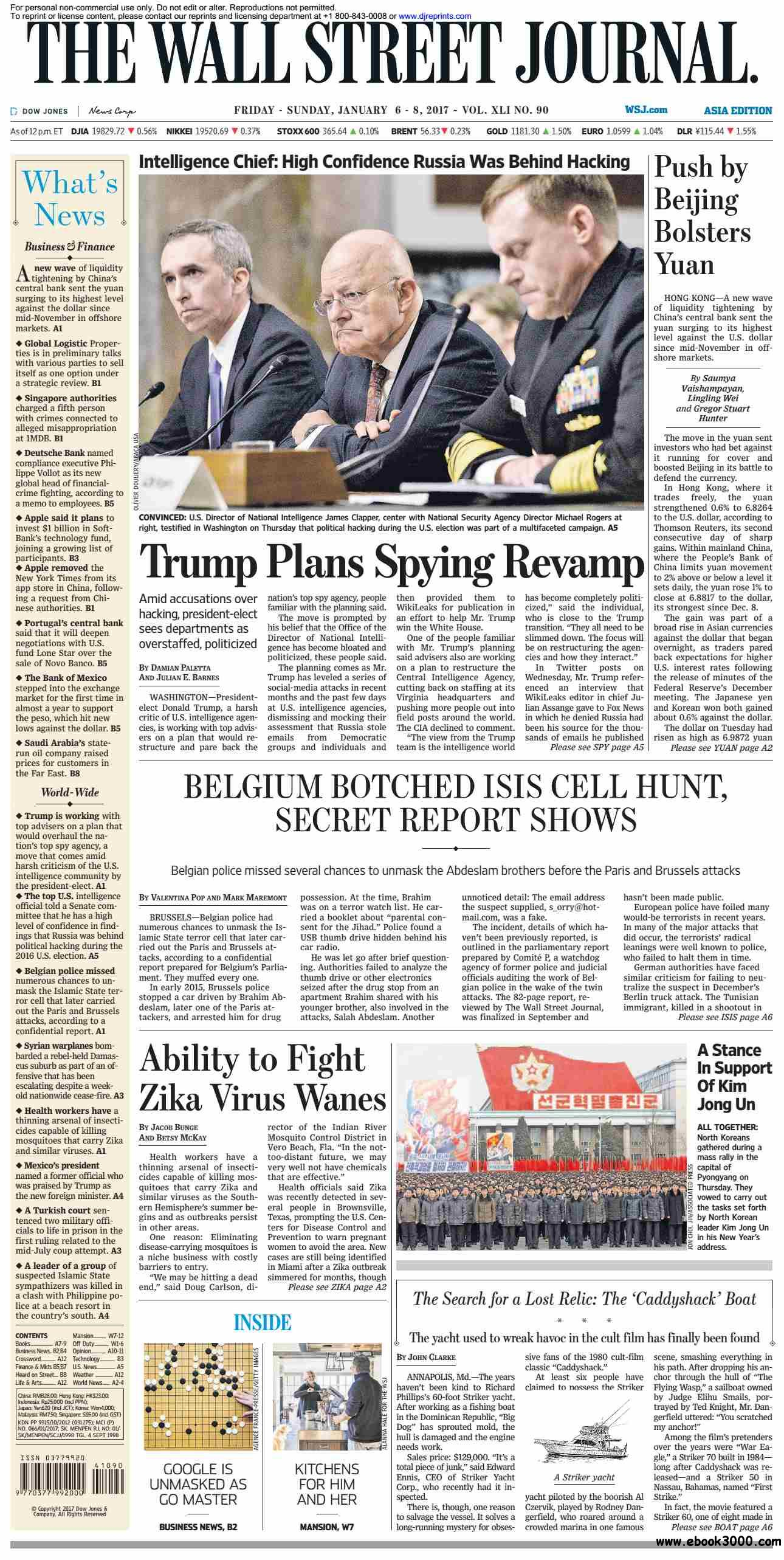 The Wall Street Journal Asia  January 06 2017