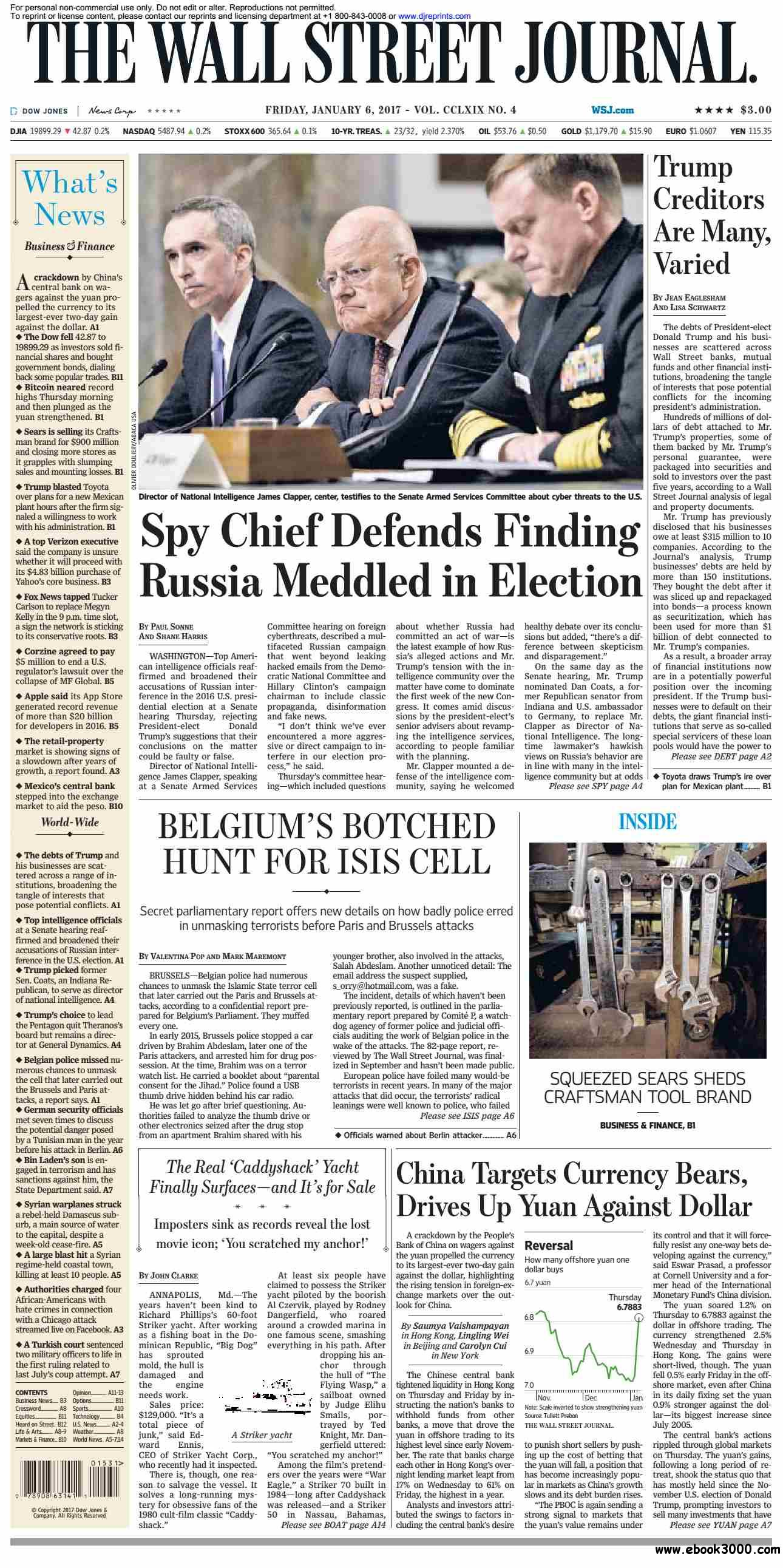The Wall Street Journal  January 06 2017