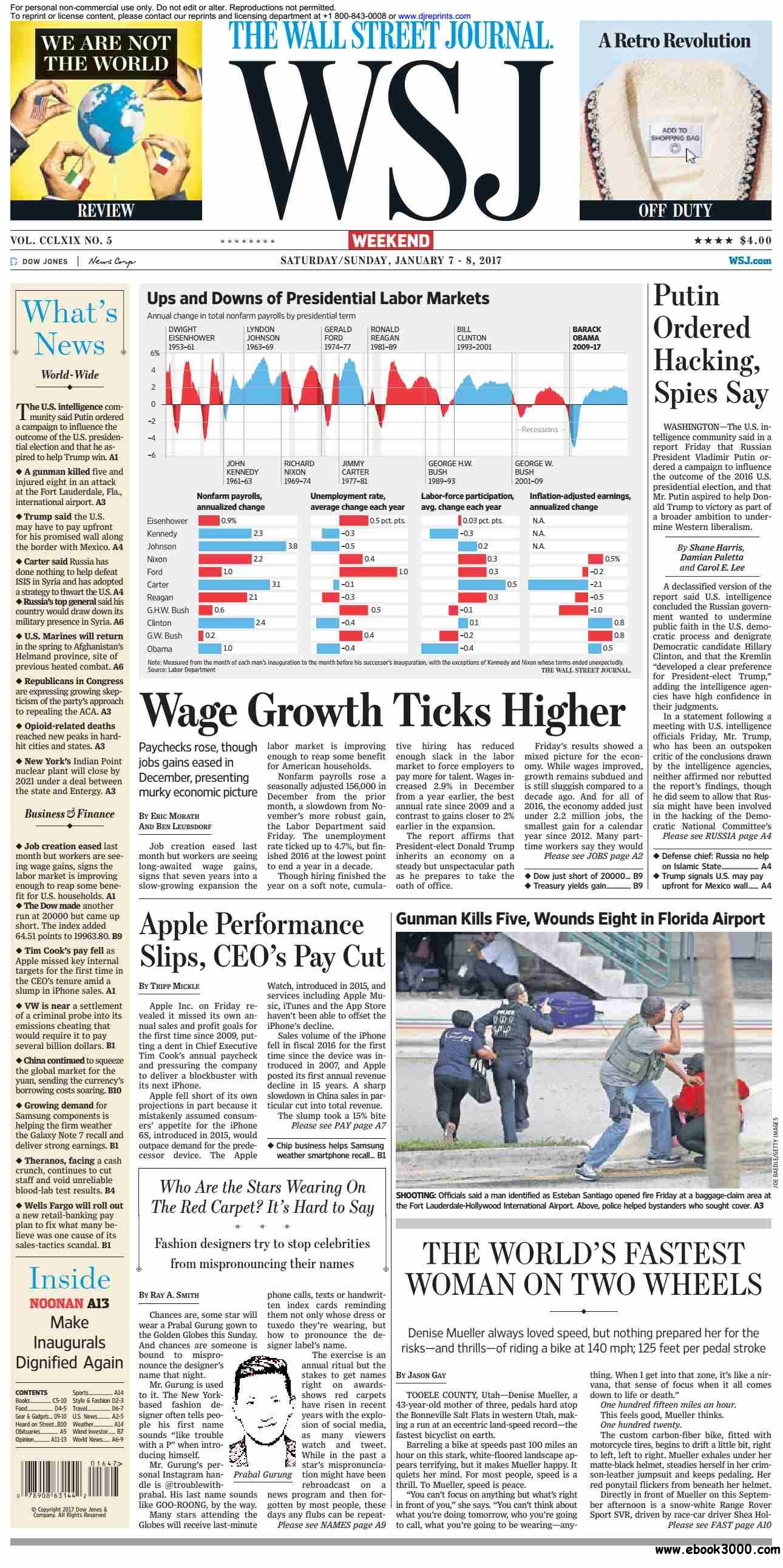 The Wall Street Journal  January 07 2017