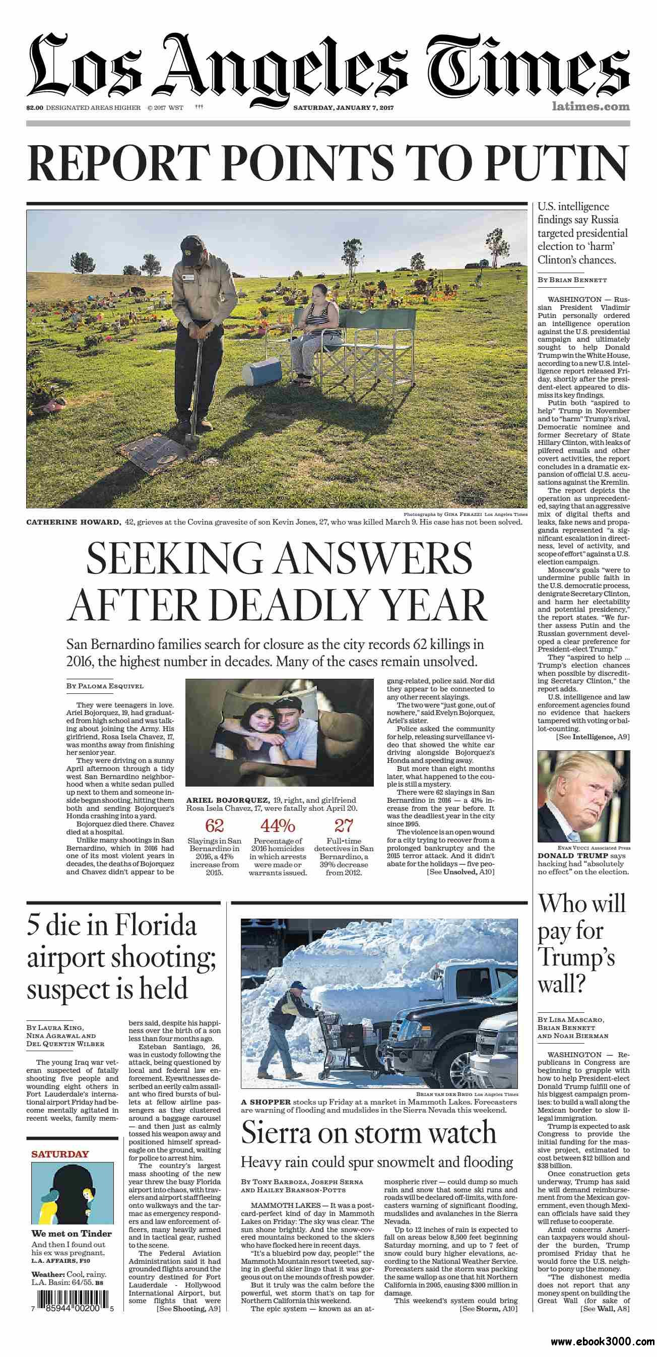 Los Angeles Times  January 07, 2017