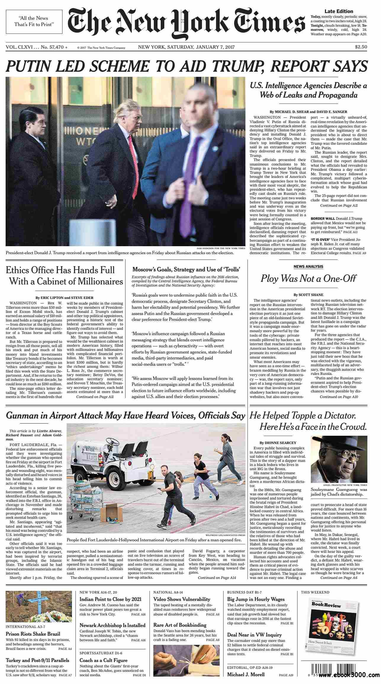 The New York Times  January 07 2017