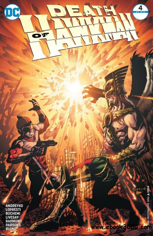 Death of Hawkman 04 (of 06) (2017)