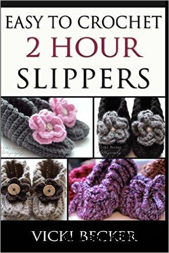 Easy To Crochet 2 Hour Slippers