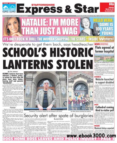 Express and Star Staffordshire Edition - March 18, 2017