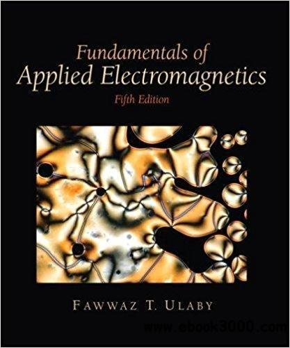ulaby fundamentals of applied electromagnetics 7th free pdf
