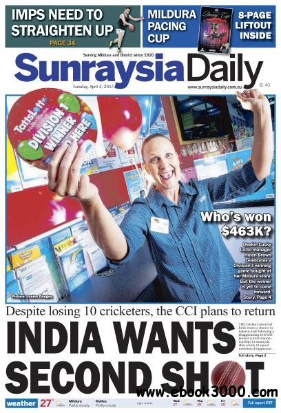 Sunraysia Daily - April 4, 2017