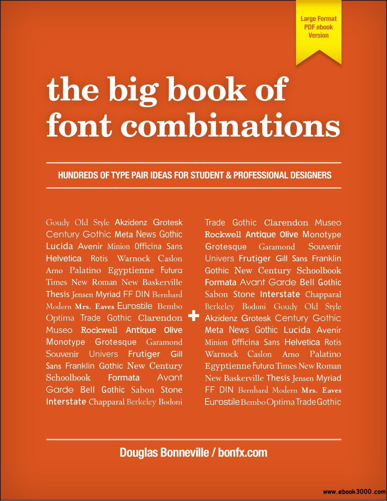 The Big Book Of Font Combinations