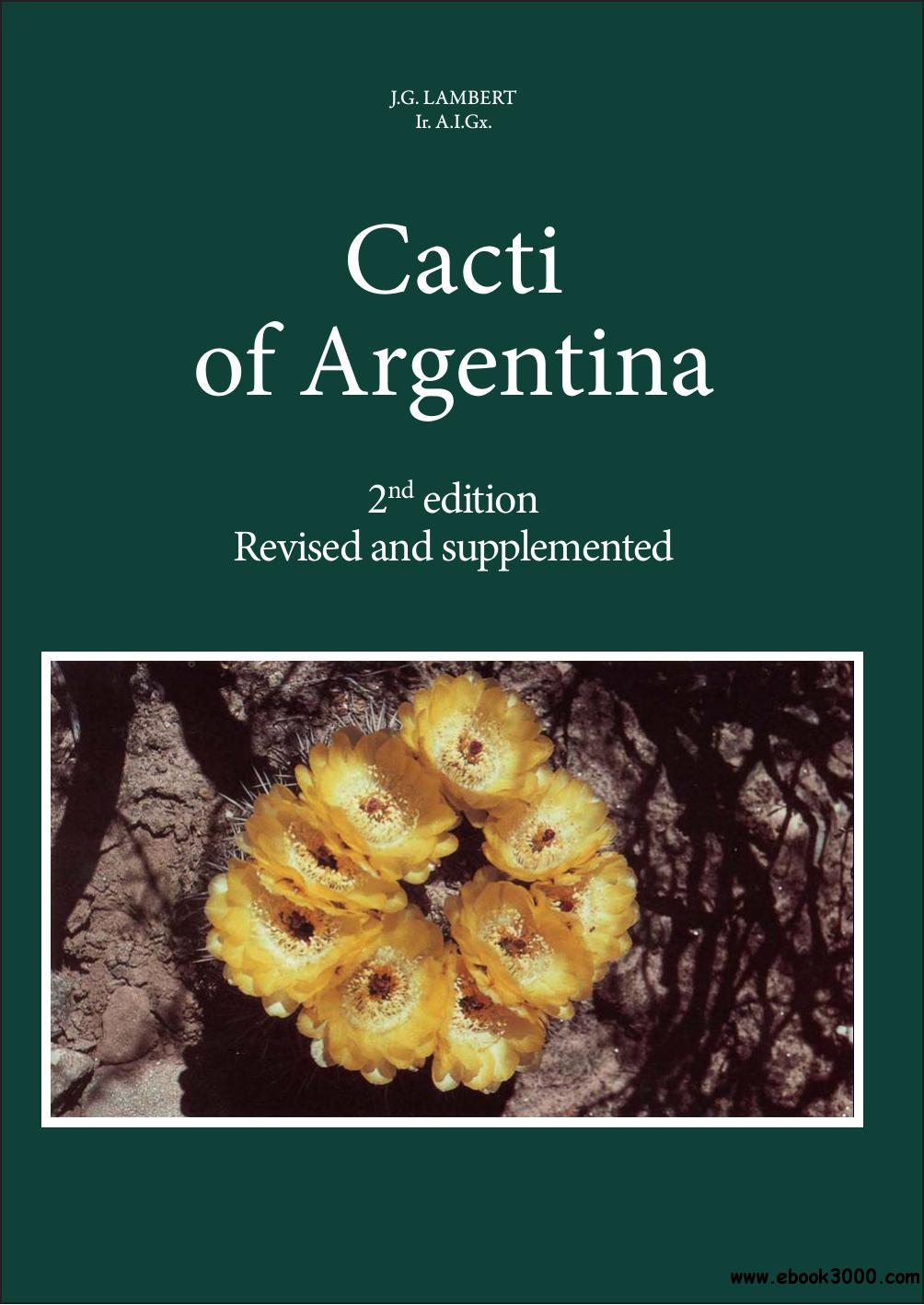 Cacti of Argentins, 2nd Edition