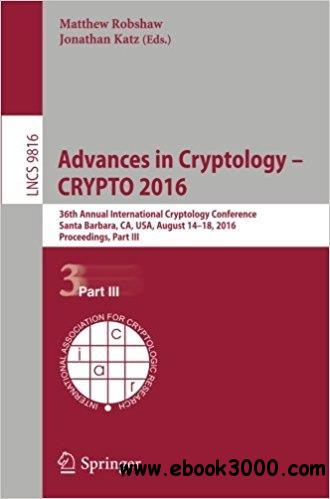 Advances in Cryptology - CRYPTO 2016, Part III