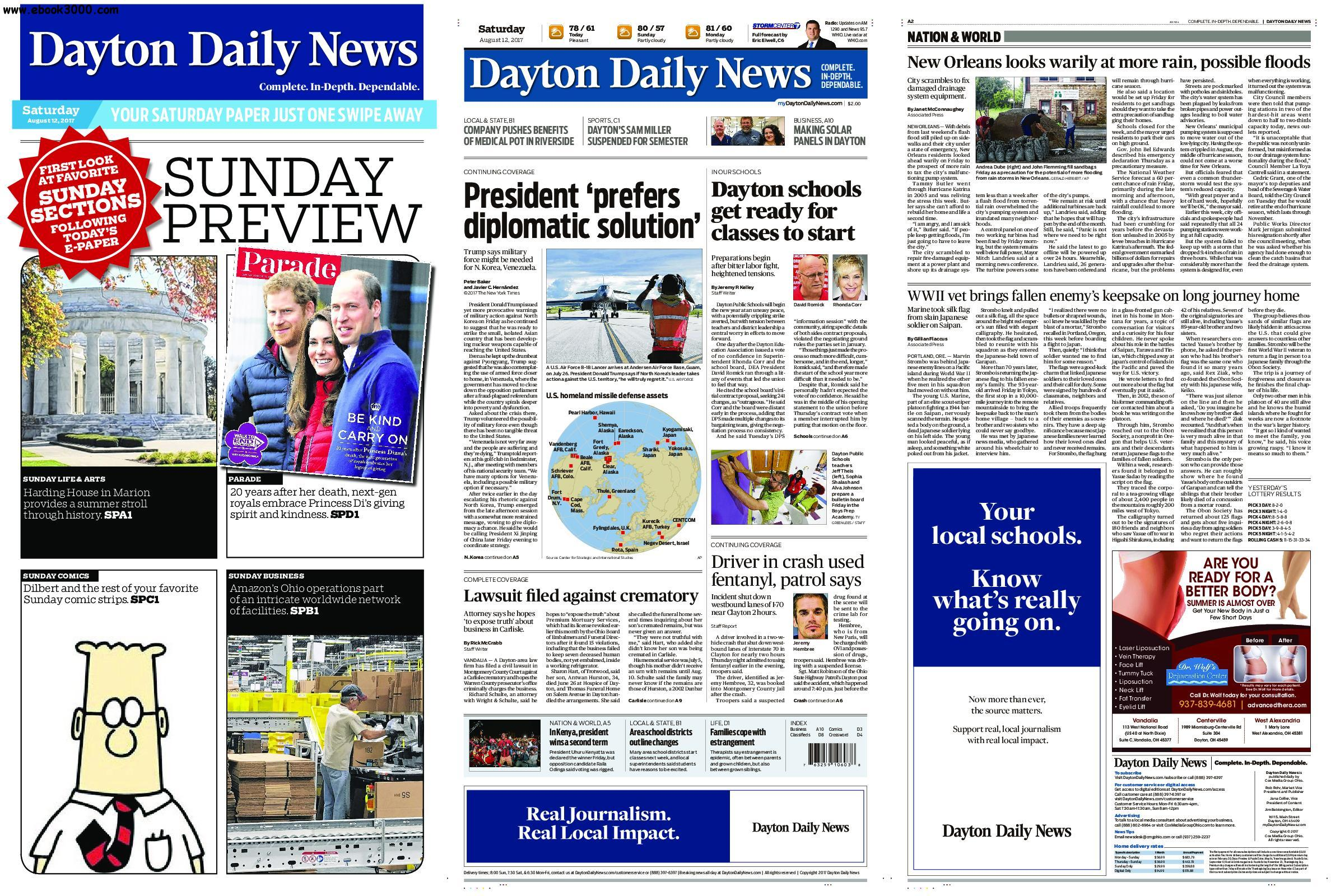 Dayton Daily News - August 12, 2017