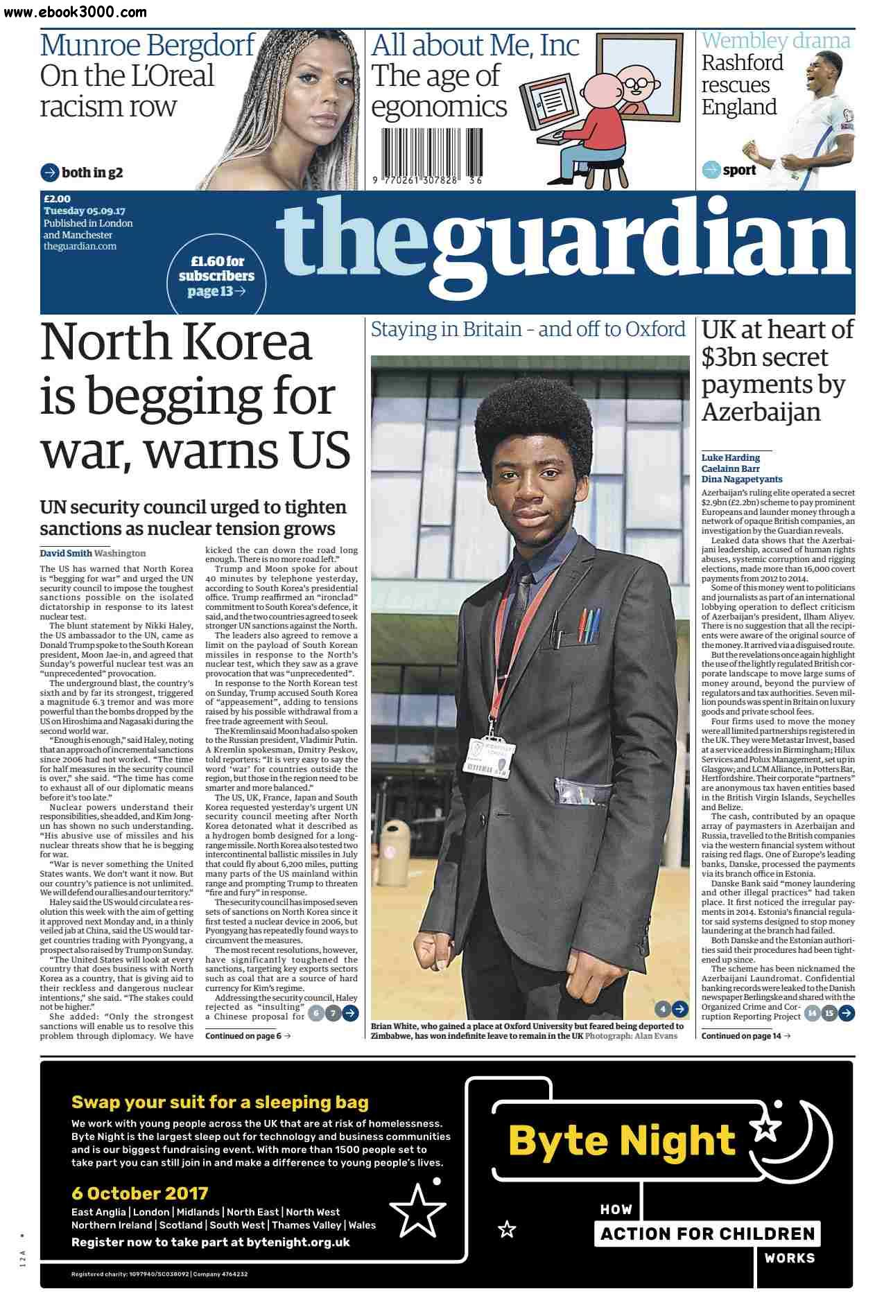 The Guardian  September 05 2017