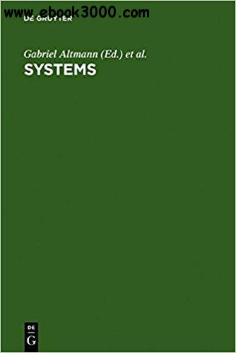Systems: New Paradigms for the Human Sciences
