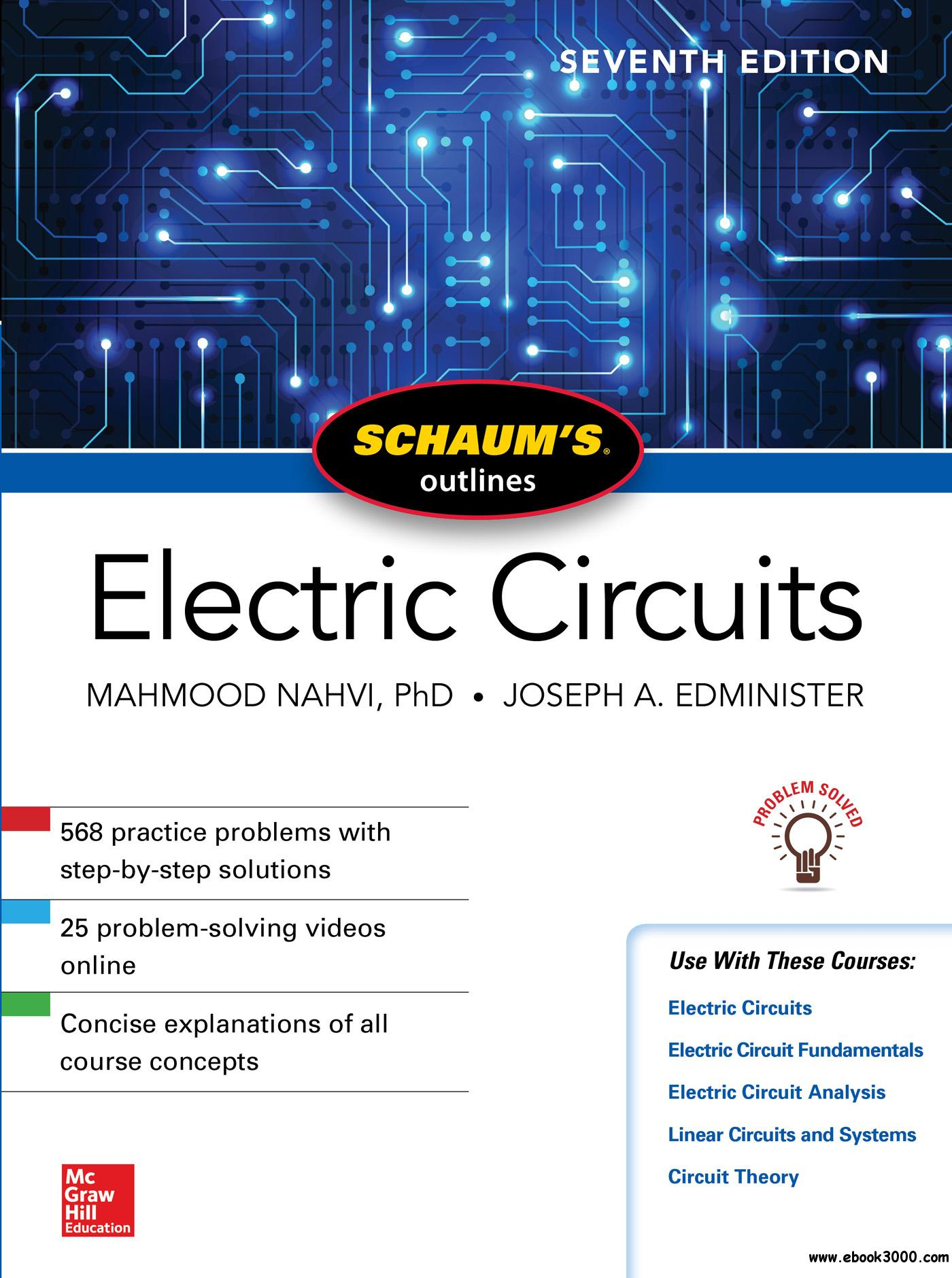 Schaum's Outline of Electric Circuits, 7th Edition