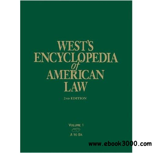 West's Encyclopedia of American Law (13 Volume Set)