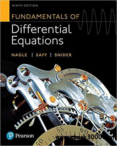 Fundamentals of Differential Equations, 9th  Edition