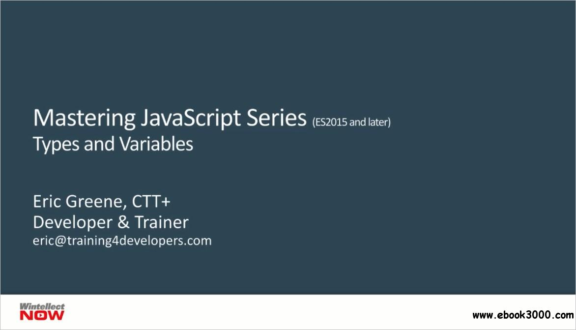 JavaScript Types and Variables