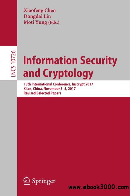Information Security and Cryptology
