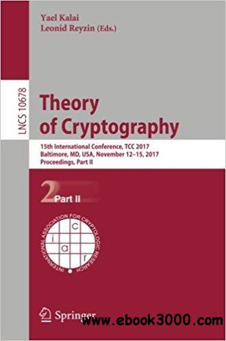 Theory of Cryptography: 15th International Conference, Part II