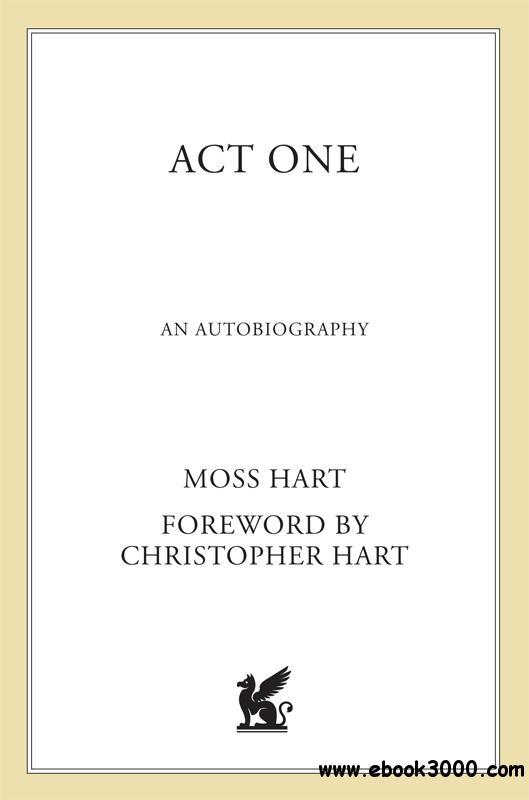 Act One: An Autobiography, 2nd Edition