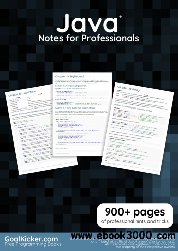 Java? Notes for Professionals