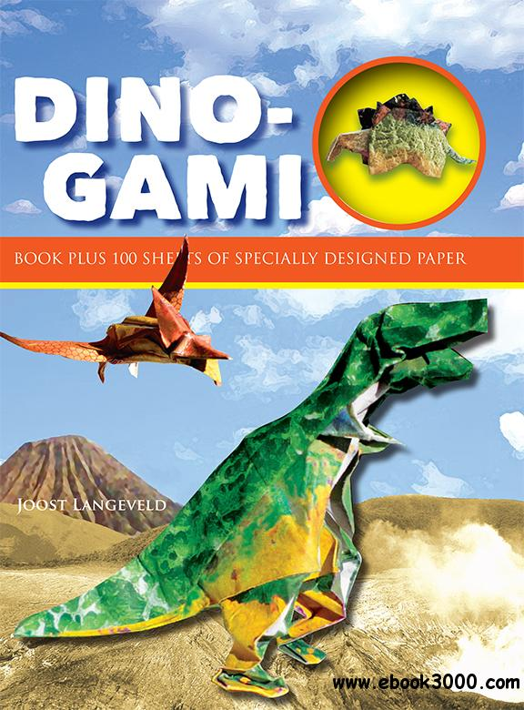 Dino-Gami (Origami Books), 2nd Edition