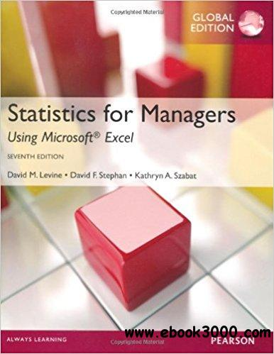 Statistics for Managers Using Microsoft Excel, 7th edition