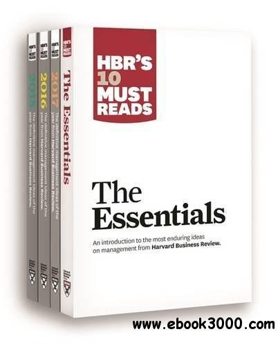 HBR's 10 Must Reads Big Business Ideas Collection (2015-2017 plus The Essentials) (4 Books)