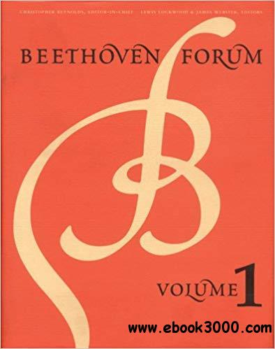 Beethoven Forum, Volume 1