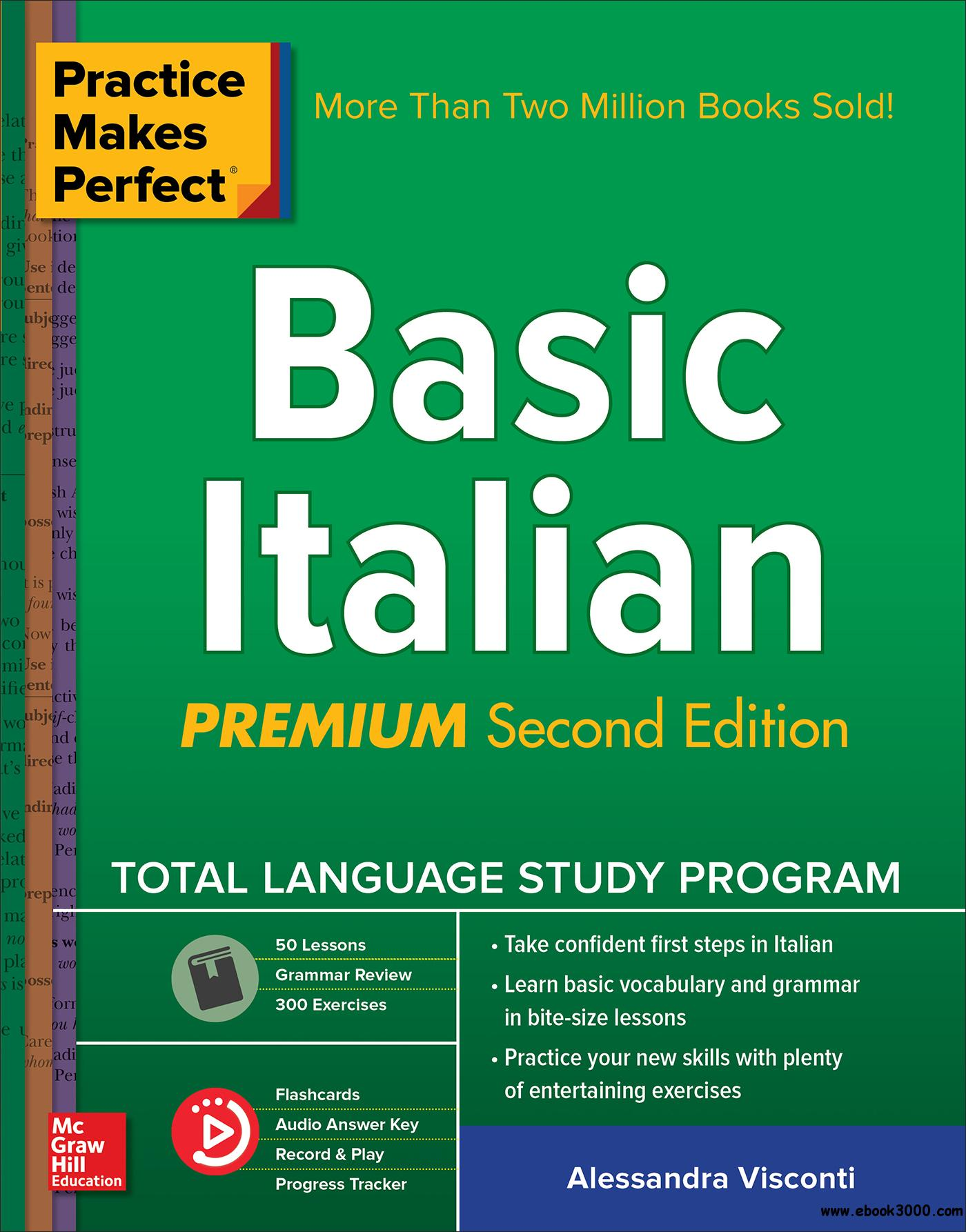 Practice Makes Perfect: Basic Italian, 2nd Edition