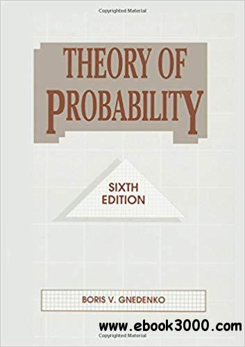 Theory of Probability, 6th edition
