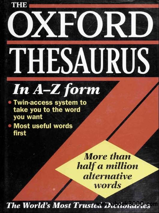 The Oxford Thesaurus, 2nd  Edition