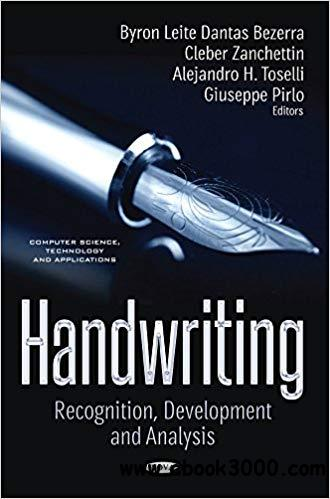 Handwriting: Recognition, Development and Analysis