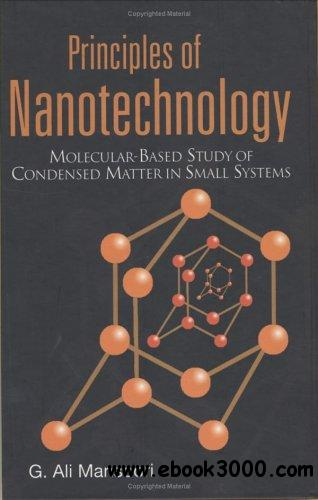 Principles of Nanotechnology: Molecular-based Study of Condensed Matter in Small Systems