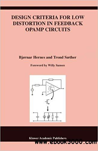 Design Criteria for Low Distortion in Feedback Opamp Circuits