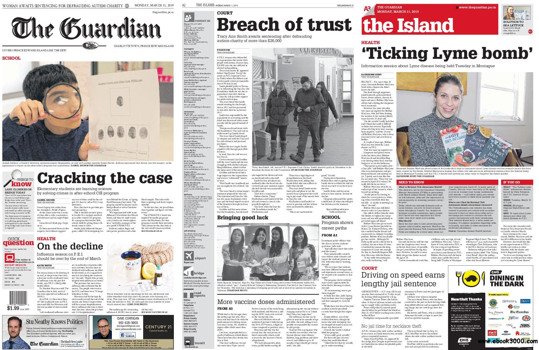 The Guardian (Charlottetown) - March 11, 2019