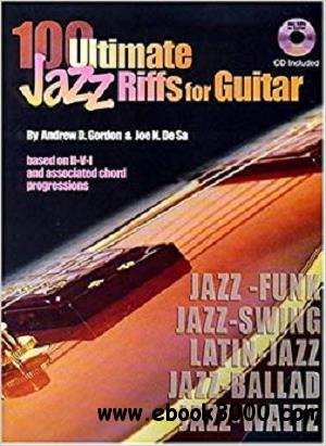 100 Ultimate Jazz Riffs for Guitar (Book/Audio CD)