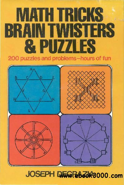Math tricks, brain twisters, and puzzles