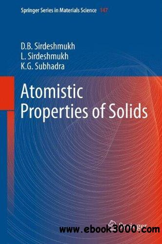 Atomistic Properties of Solids