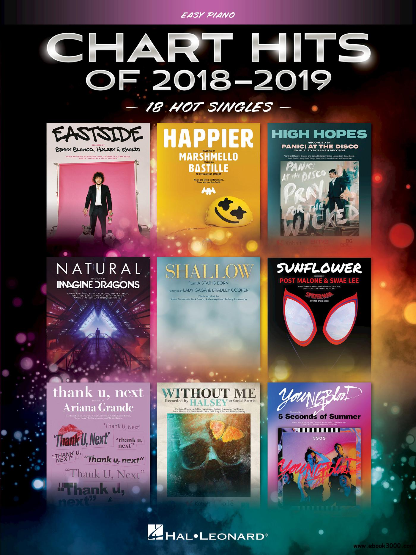 Chart Hits of 2018-2019 Songbook