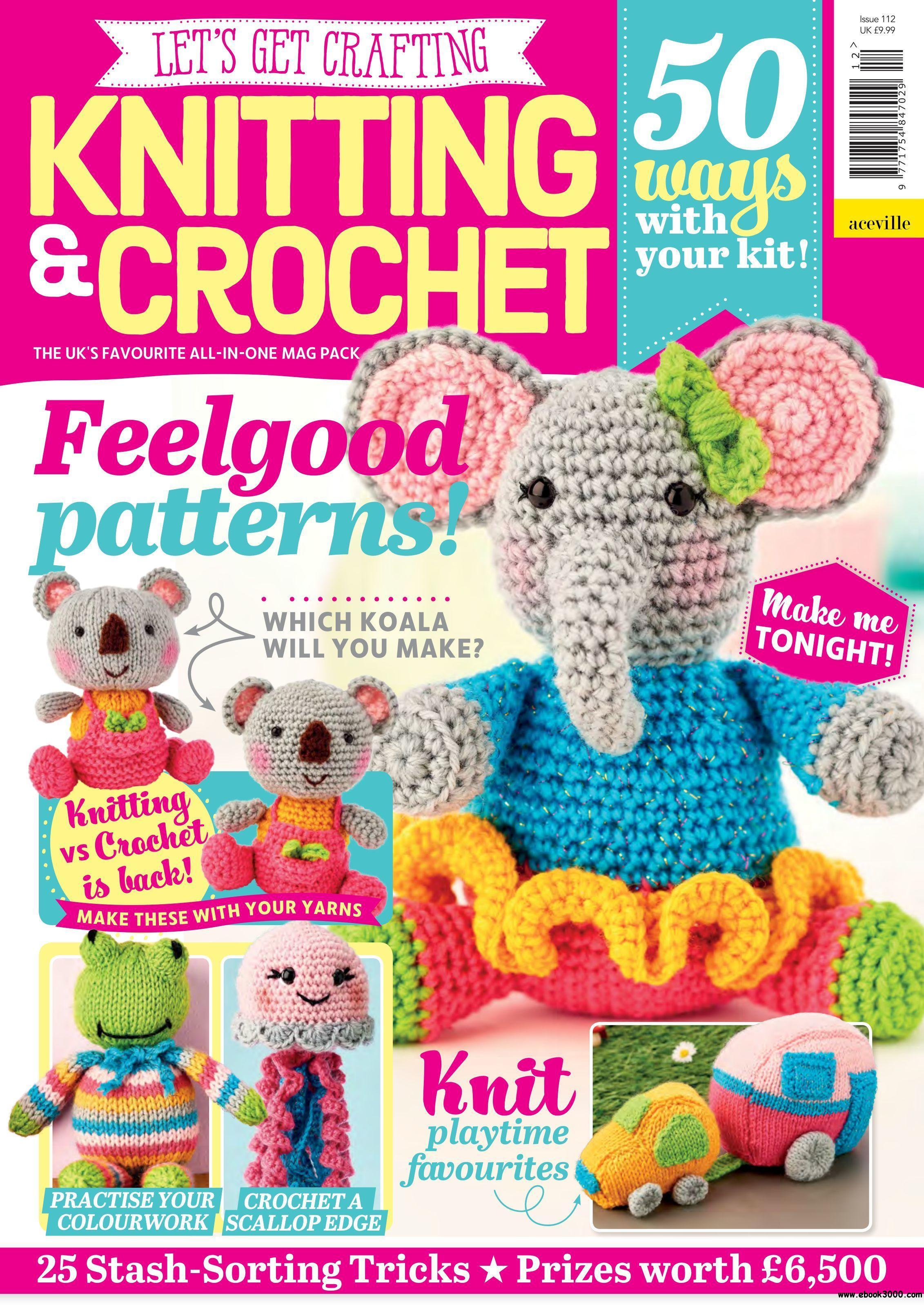 Let S Get Crafting Knitting Crochet August 2019 Free Ebooks