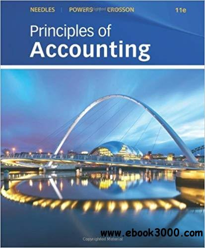 Principles of Accounting, 11th  Edition