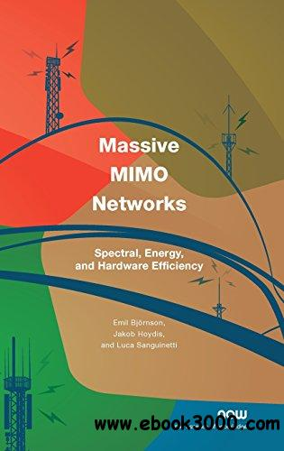 Massive MIMO Networks: Spectral, Energy, and Hardware Efficiency